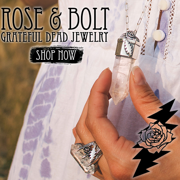 Rose & Bolt -Grateful Dead Jewelry