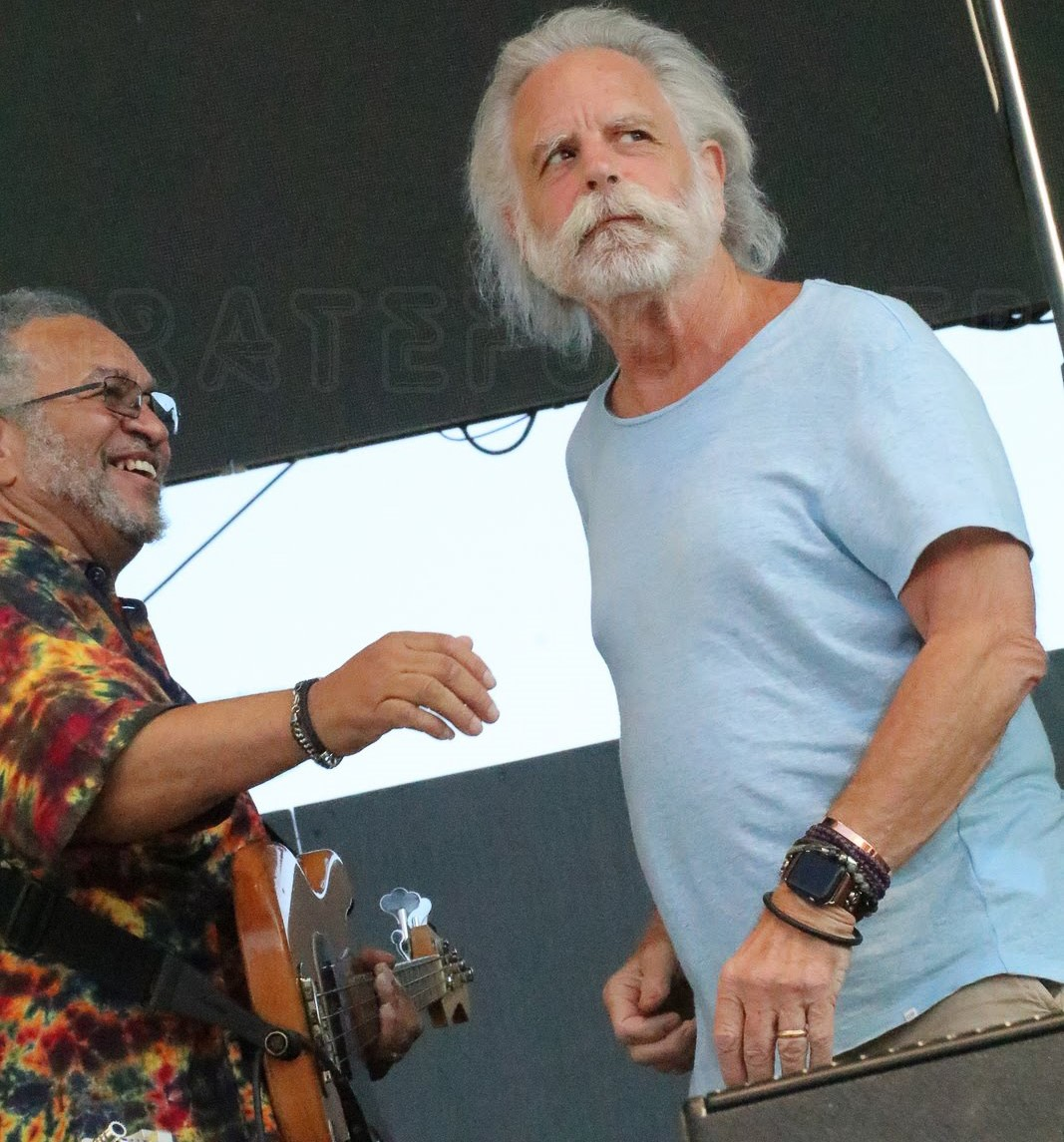 George Porter Jr. with Bobby Weir
