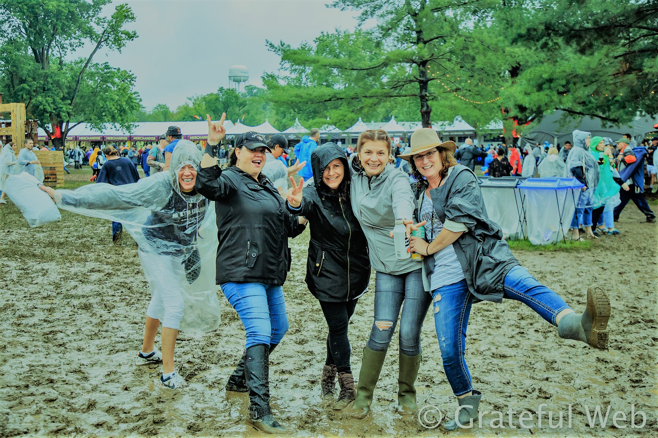 A rainy and fun day @ Bourbon and Beyond 2018