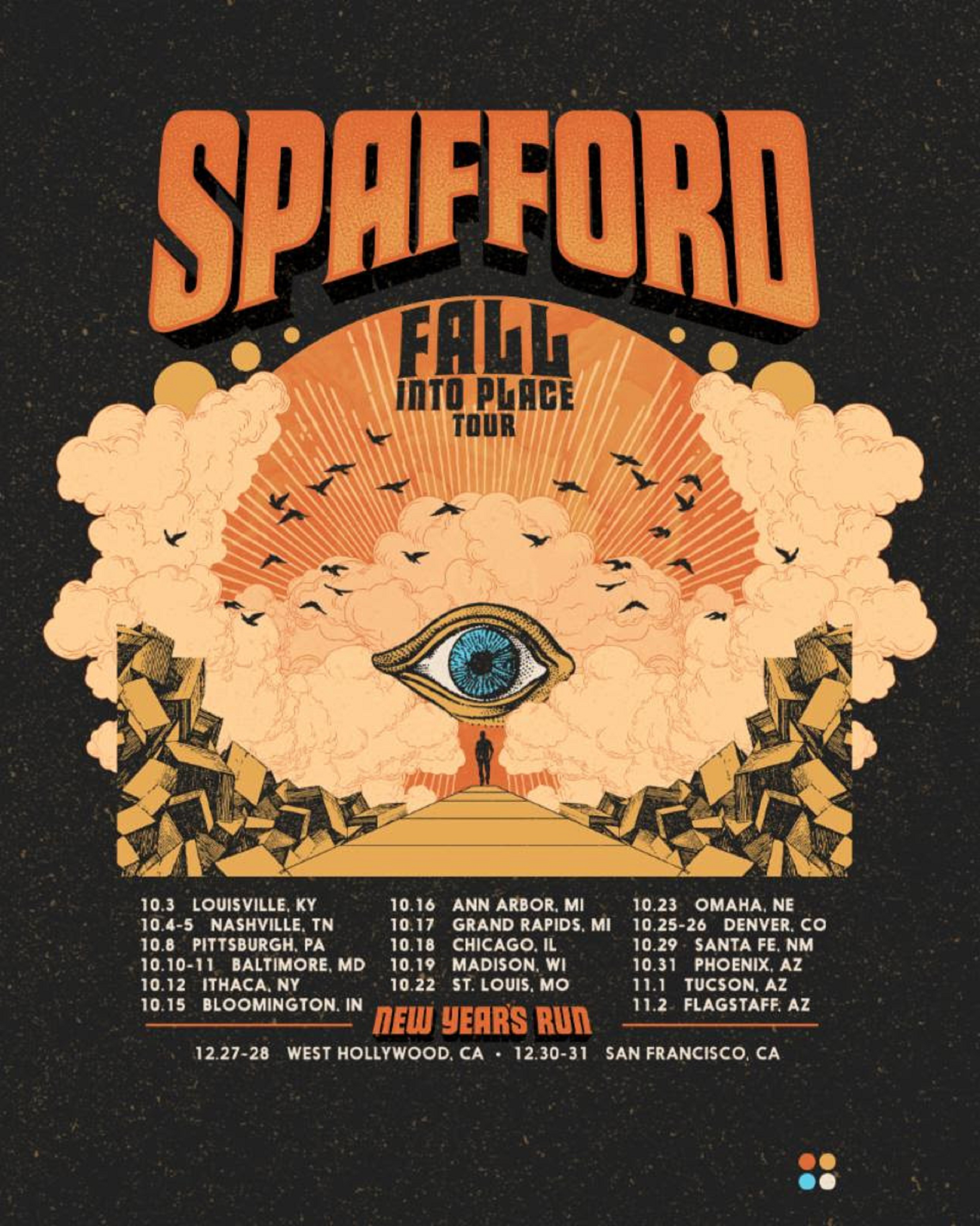 Spafford fall tour 2019