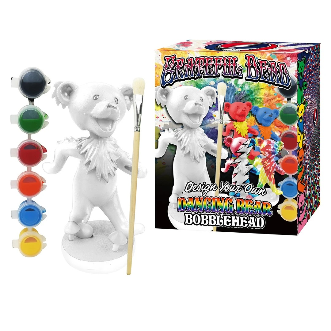 Grateful Dead Bobbleheads - Paint your Bear