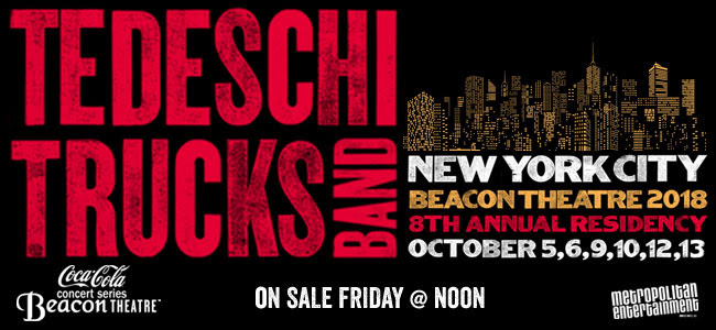 TTB back in NYC in the fall