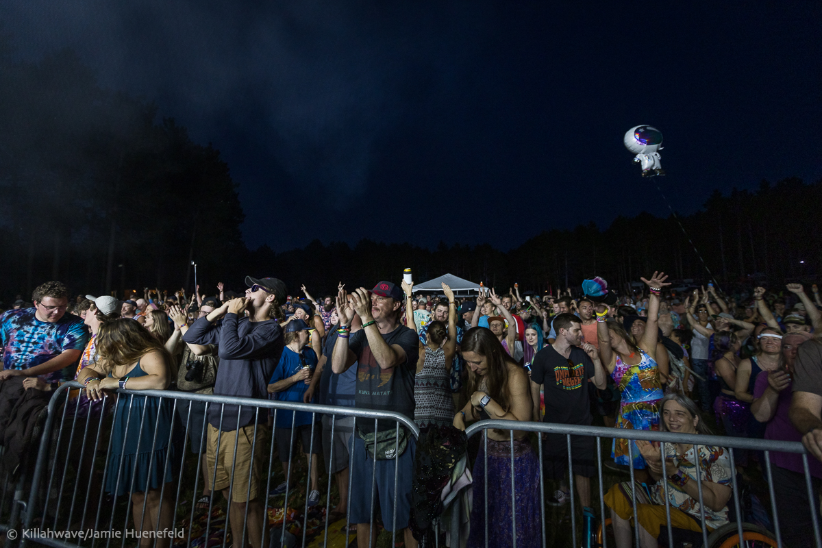 The crowd enjoying Goose | Eau Claire, WI