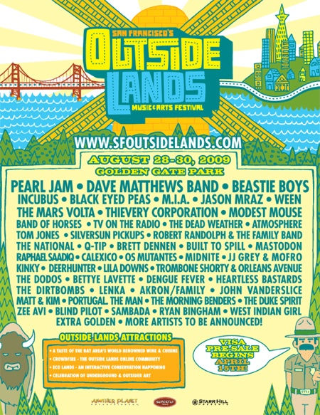 Outside Lands 2009