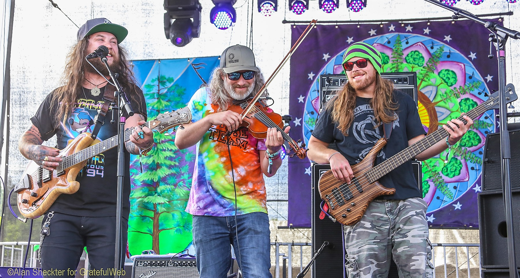 Twiddle with HBR's Zebulon Bowles | High Sierra Music Festival