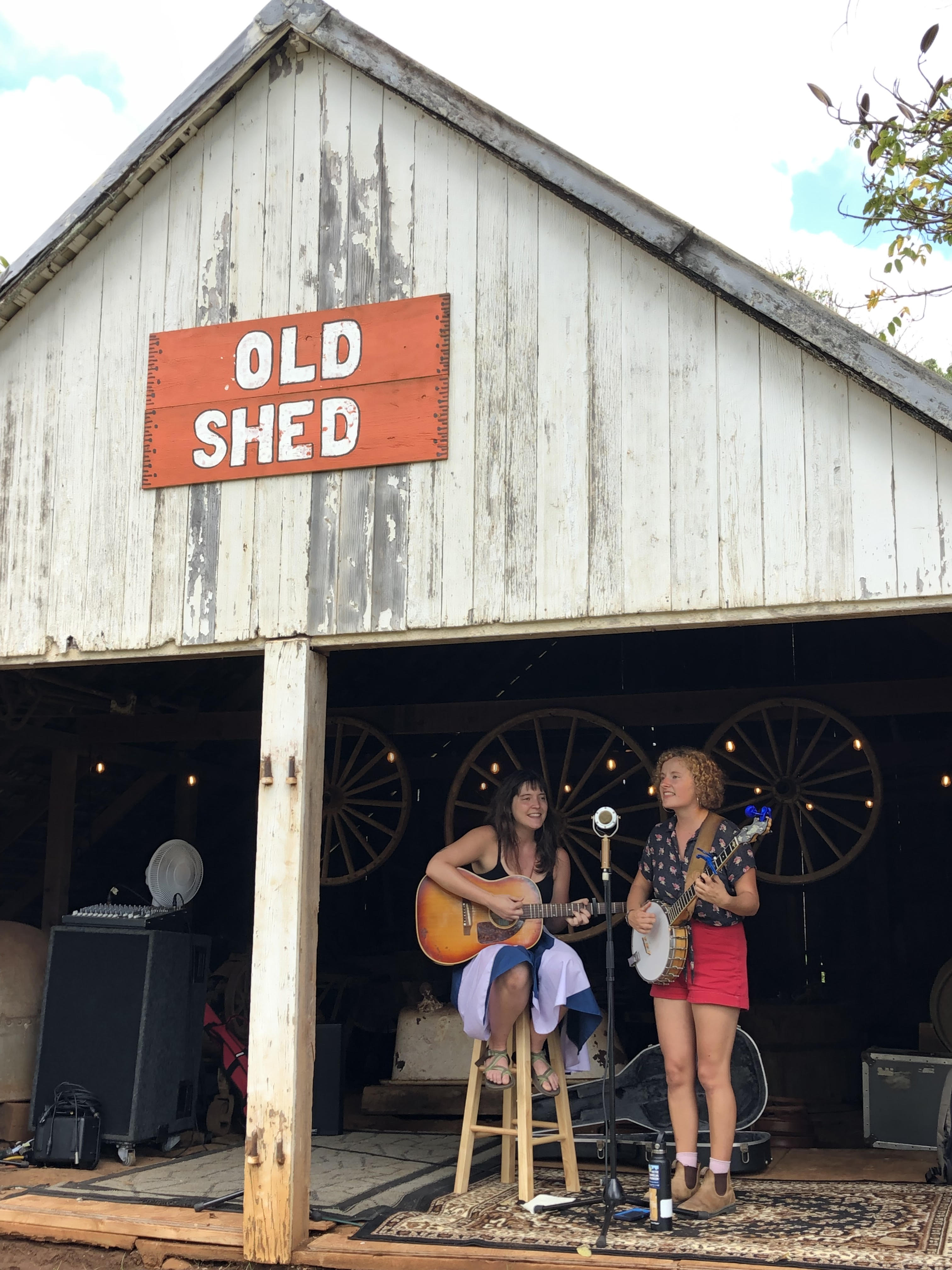 The sweet, soulful sounds of Molly & Sally (Old Barn)