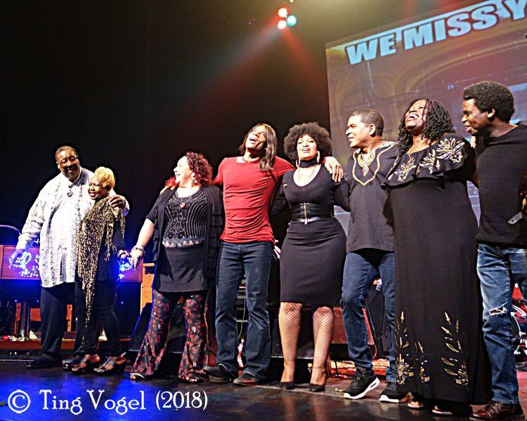 The Warfield celebrates turning 96 in style -- photo by Ting Vogel