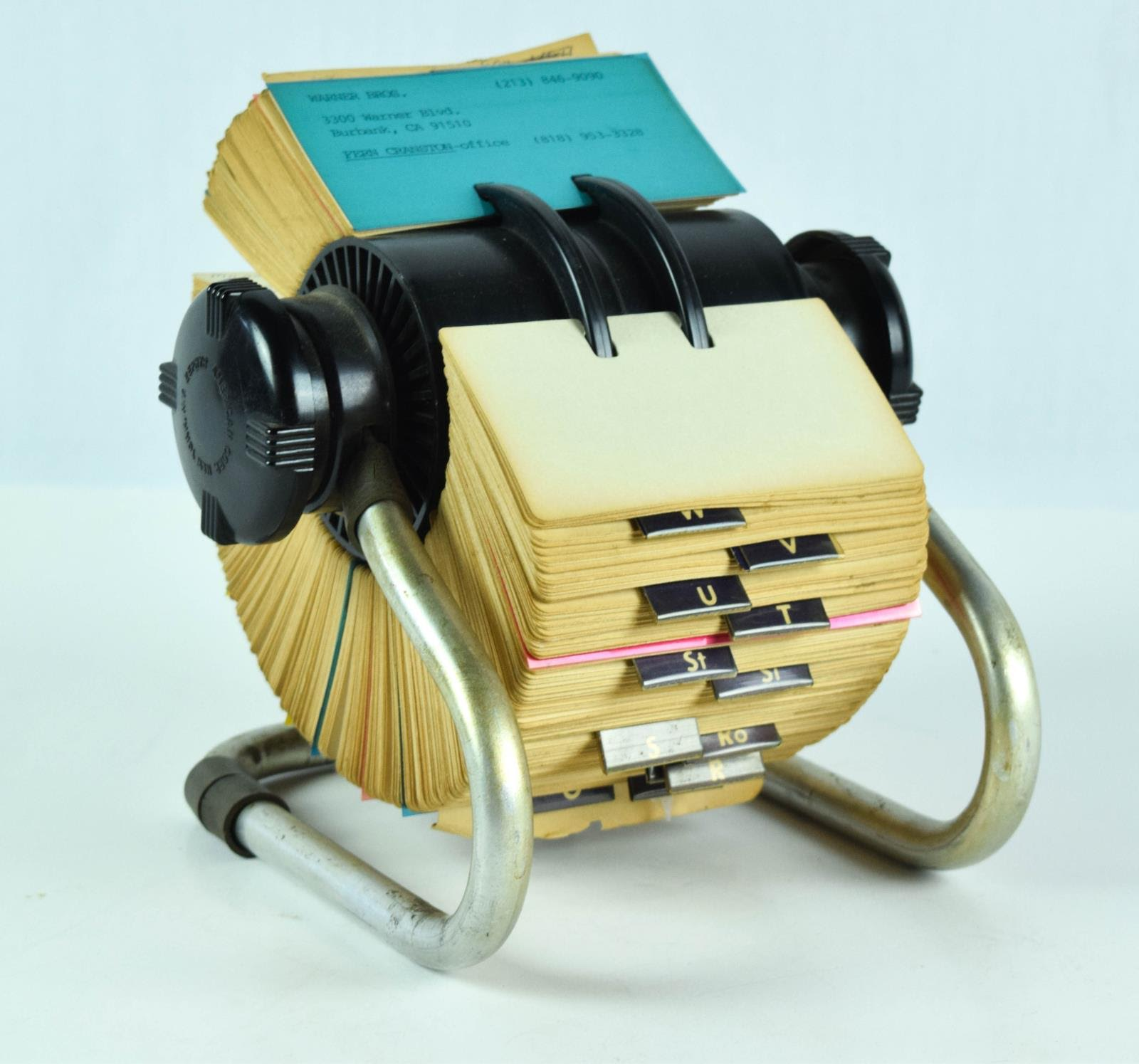 GD rolodex will be auctioned off
