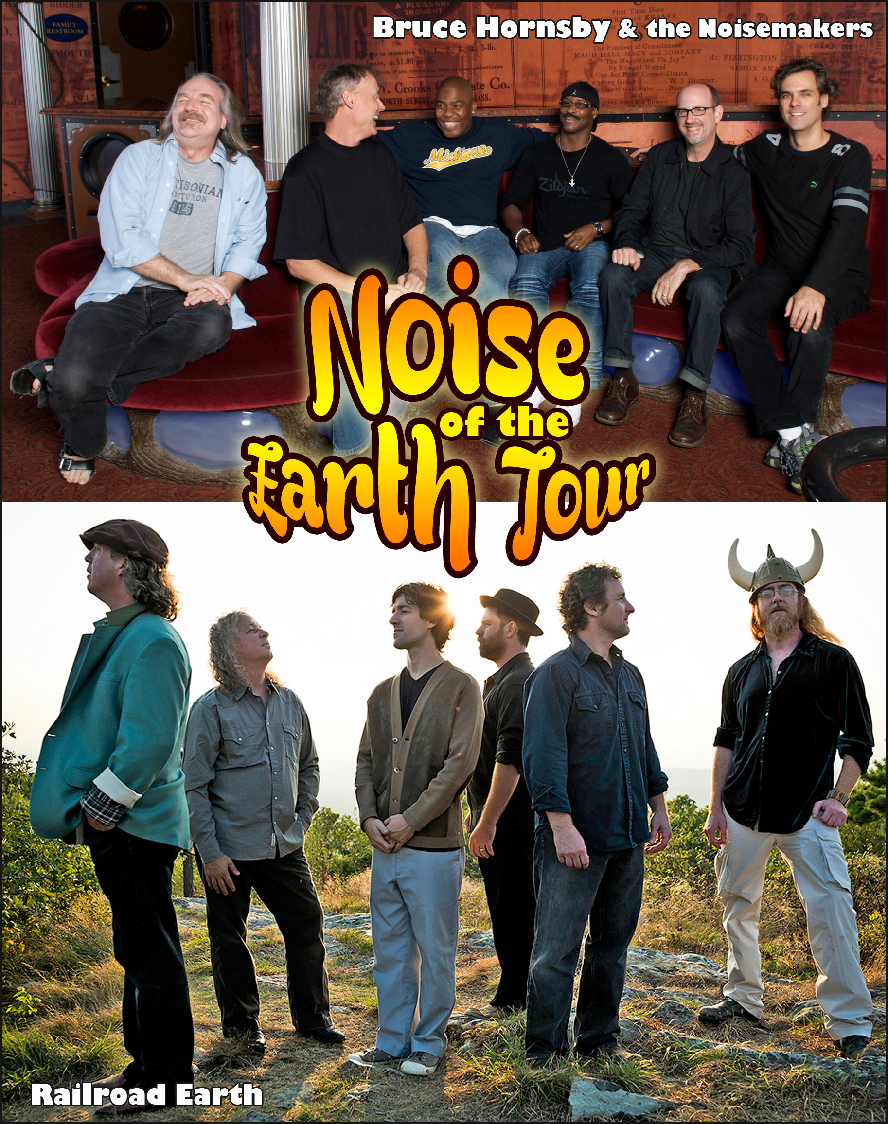 Noise of the Earth Tour to kick off at Cascadia Music Festival