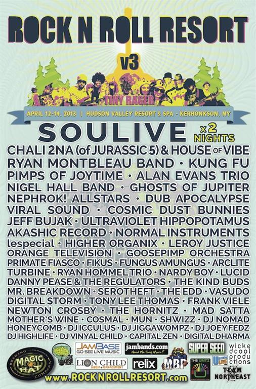 Rock n Roll Resort Announces Complete 2013 Lineup