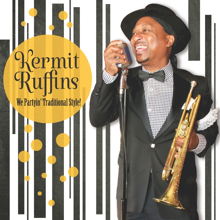 Kermit Ruffins Announces We Partyin' Traditional Style! Out May 28th