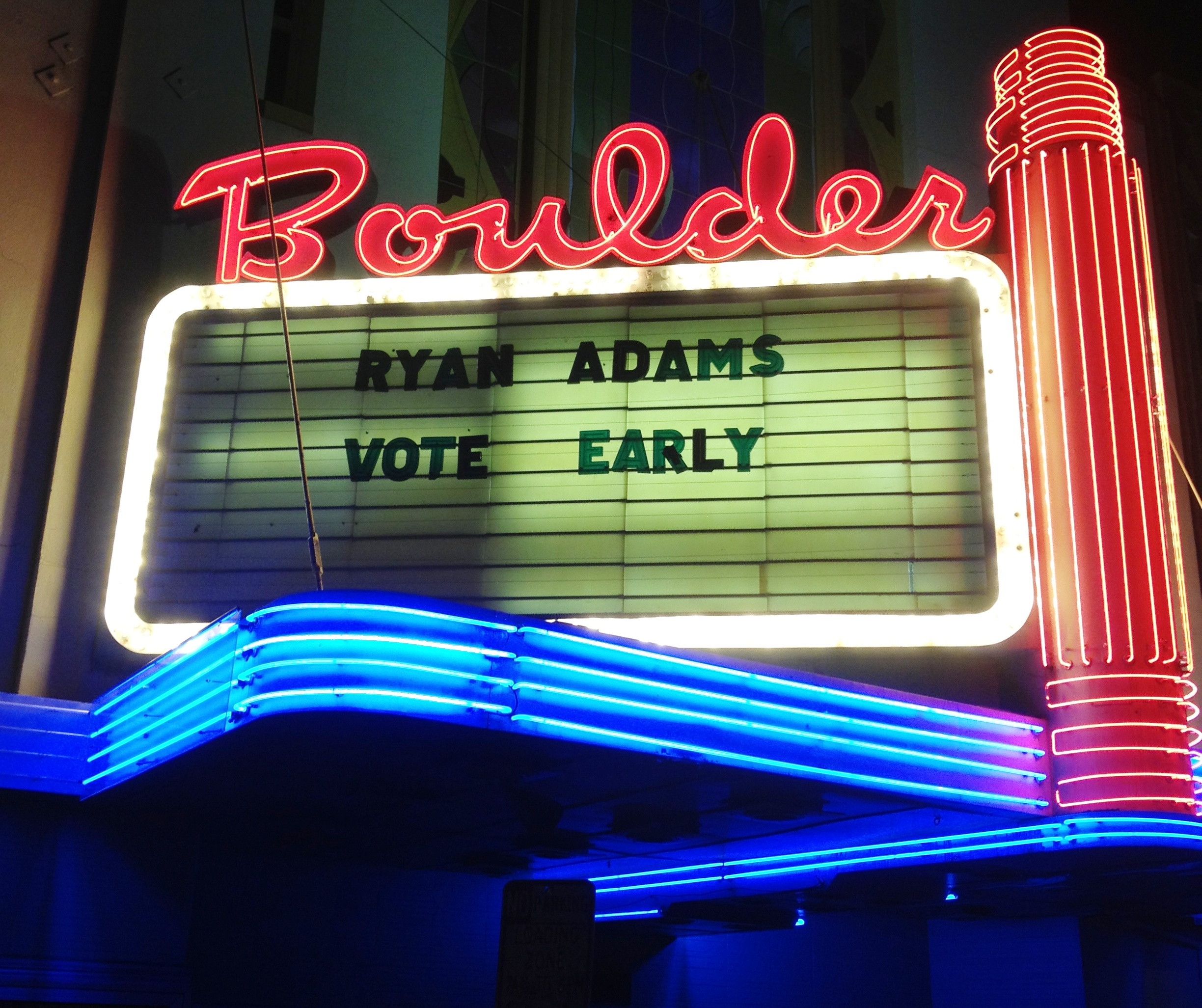Ryan Adams Shows Support for Obama w/ Acoustic Show in Boulder