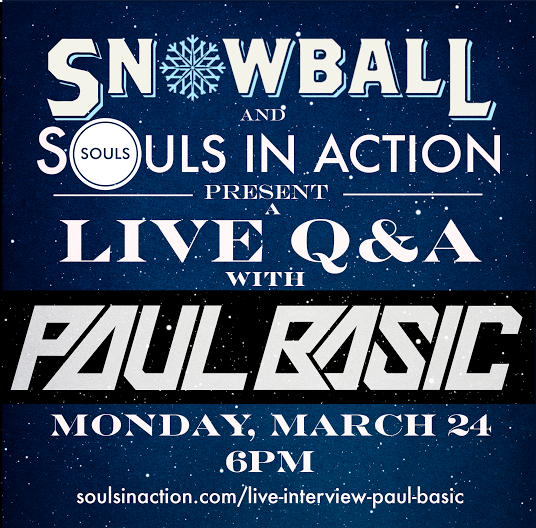 SnowBall Festival Virtual Q&A with Paul Basic
