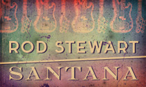 Rod Stewart & Santana Team Up for a North American Tour