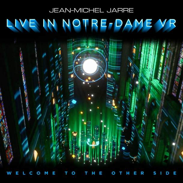 JEAN-MICHEL JARRE Announces Physical Release of Groundbreaking NYE Performance of 'Welcome to the Other Side'