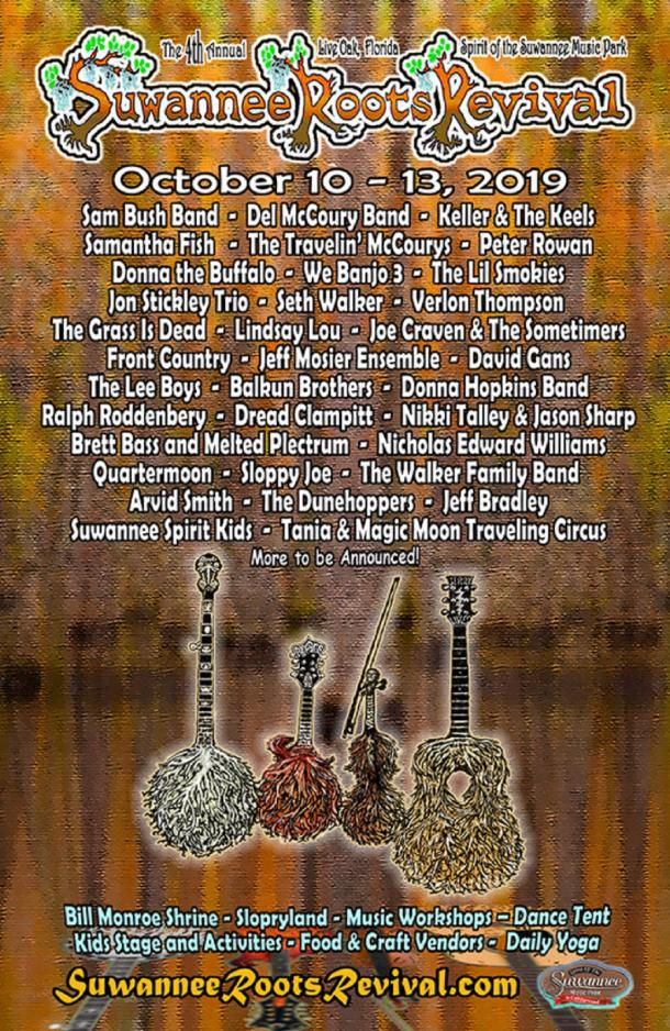 Suwannee Roots Revival Announces Bands-By-Day | Grateful Web