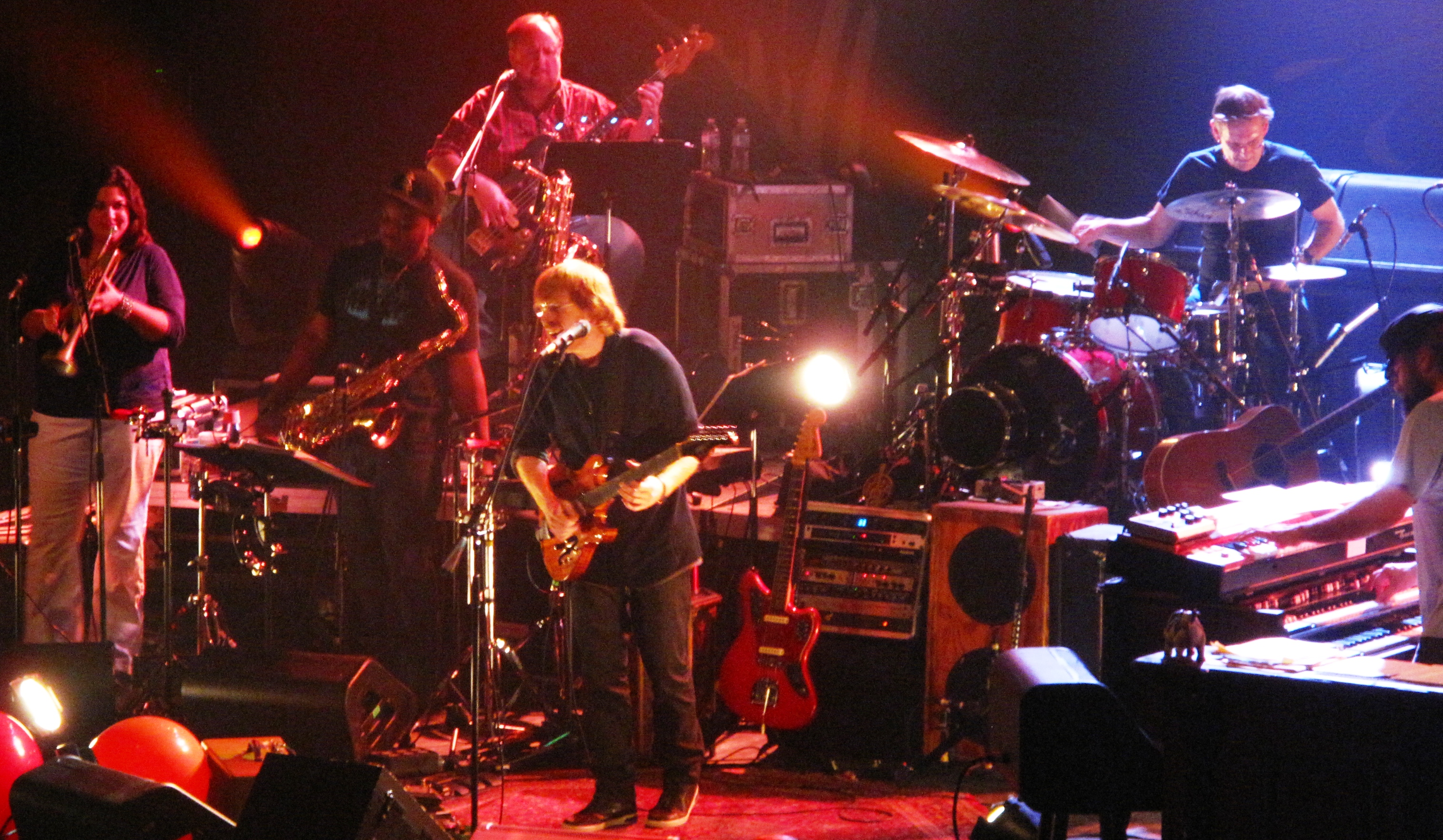Trey Anastasio | LC Pavilion | Columbus, OH | Review | 10/20/12