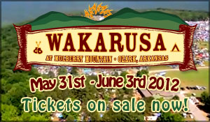Wakarusa 2012 Early Bird Tickets Going Fast!