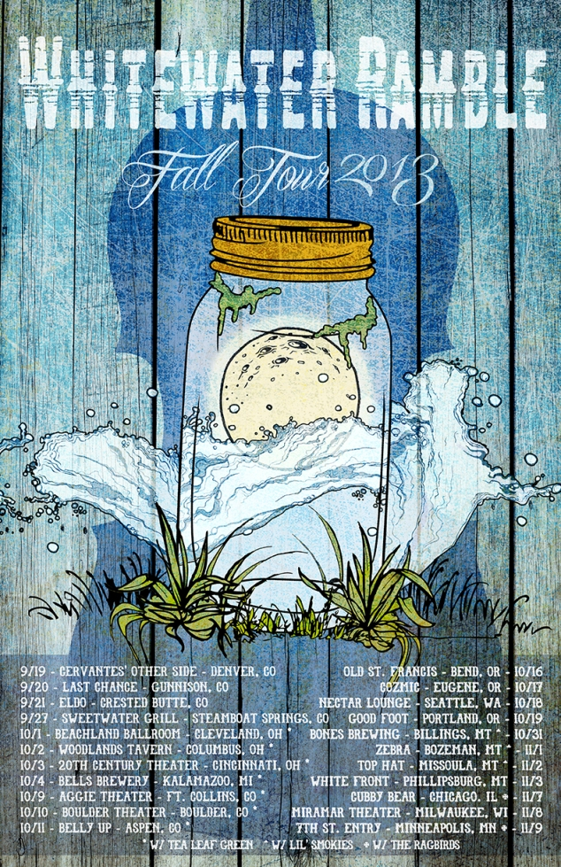 Whitewater Ramble Announces 2013 Fall Tour